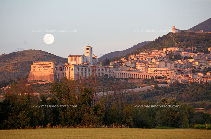 Italy, Assisi, Basilica of Saint Francis of Assisi