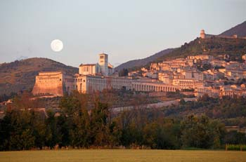 <b>Italy, Assisi</b>, Basilica of Saint Francis of Assisi