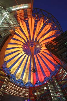 <b>Germany, Berlin</b>, The dome of the sony center