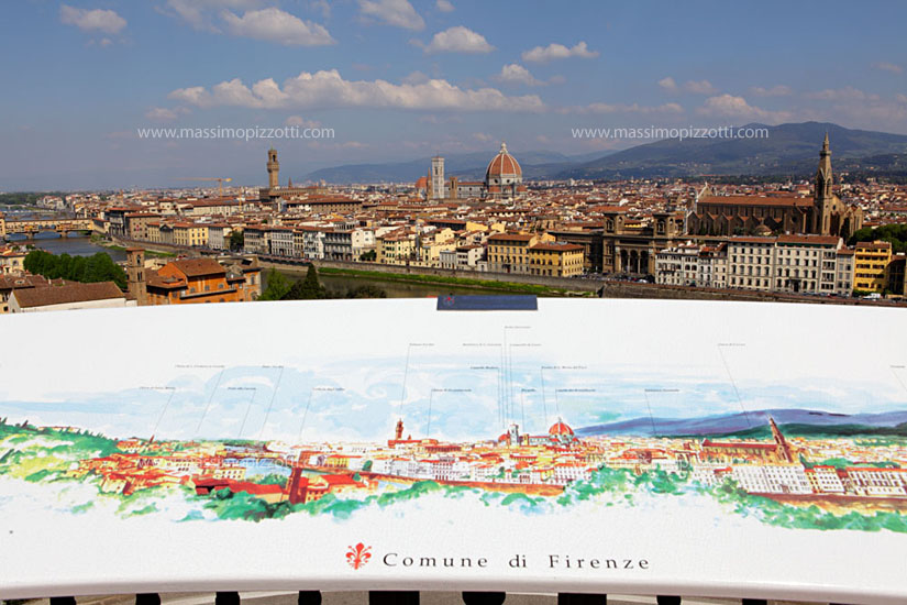 Italy, Florence, Cityscape from Piazza Michelangelo
