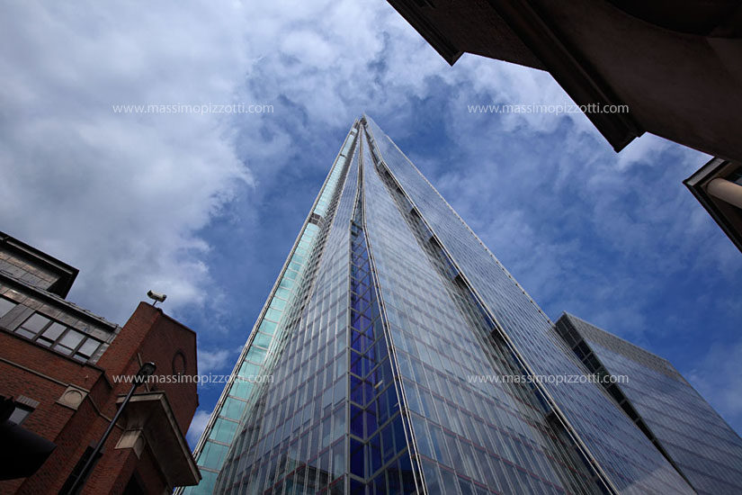 United Kingdom, London, The Shard modern architecture