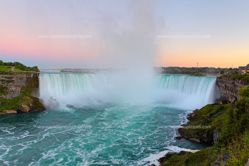 USA, Niagara Falls, Horseshoe Waterfalls