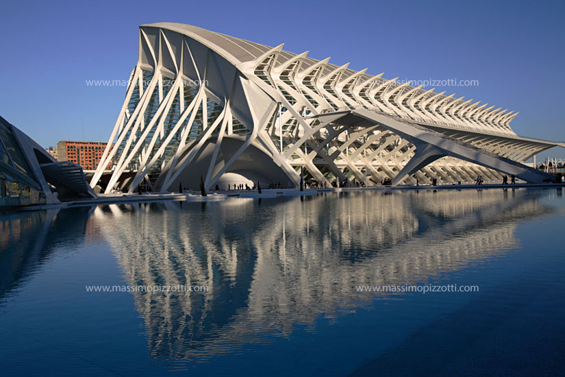 Spain, Valencia, City of science and arts