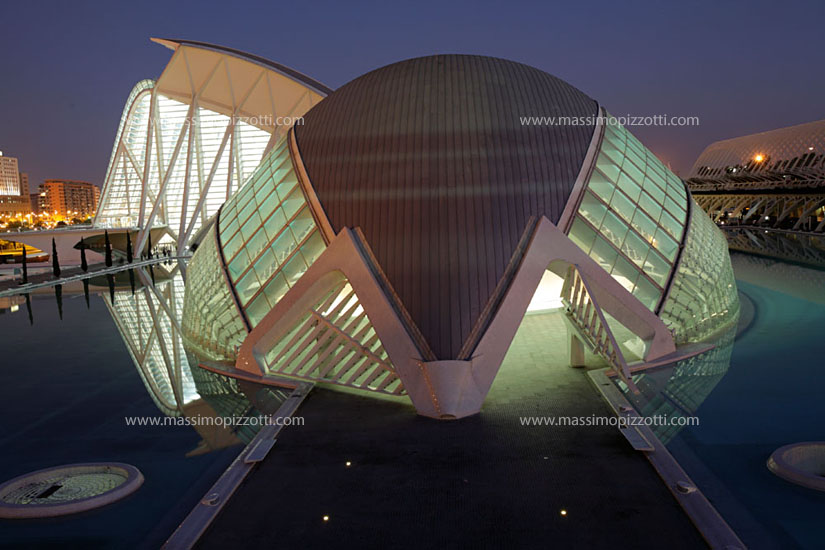 Spain, Valencia, The city of Arts and Sciences