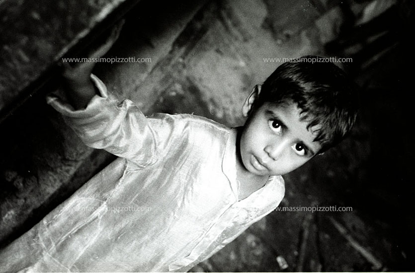 India, Delhi, Indian boy