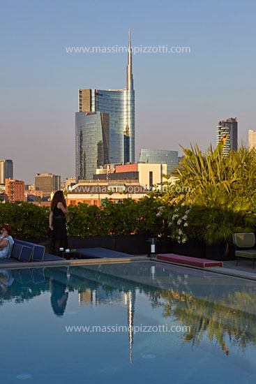 Italy, Milan, Torre Unicredit