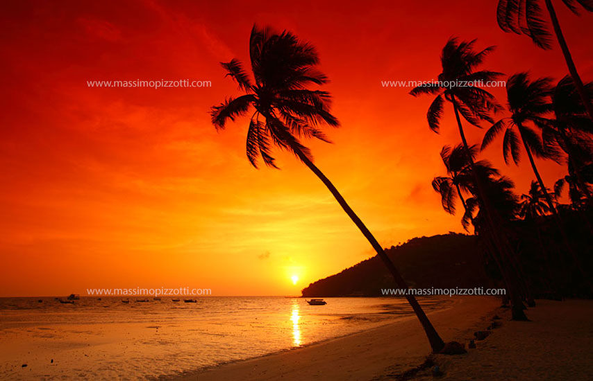 Thailand, Phi Phi Don, Sunrise in Phi Phi Don